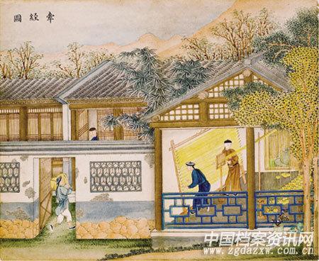 日本手绘场景房屋