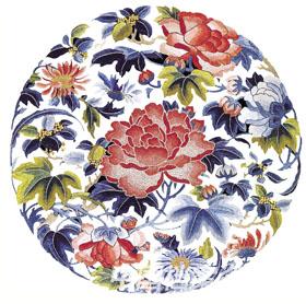 蜀锦传统品种有雨丝锦,方方锦,月华锦,浣花锦等.图片