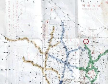 安徽至宾县地图